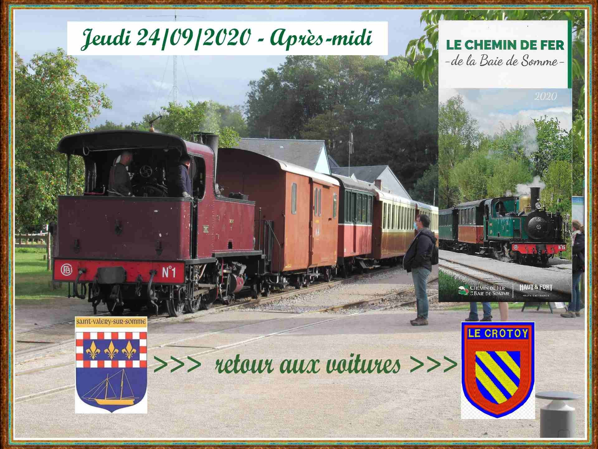243 001 retour train