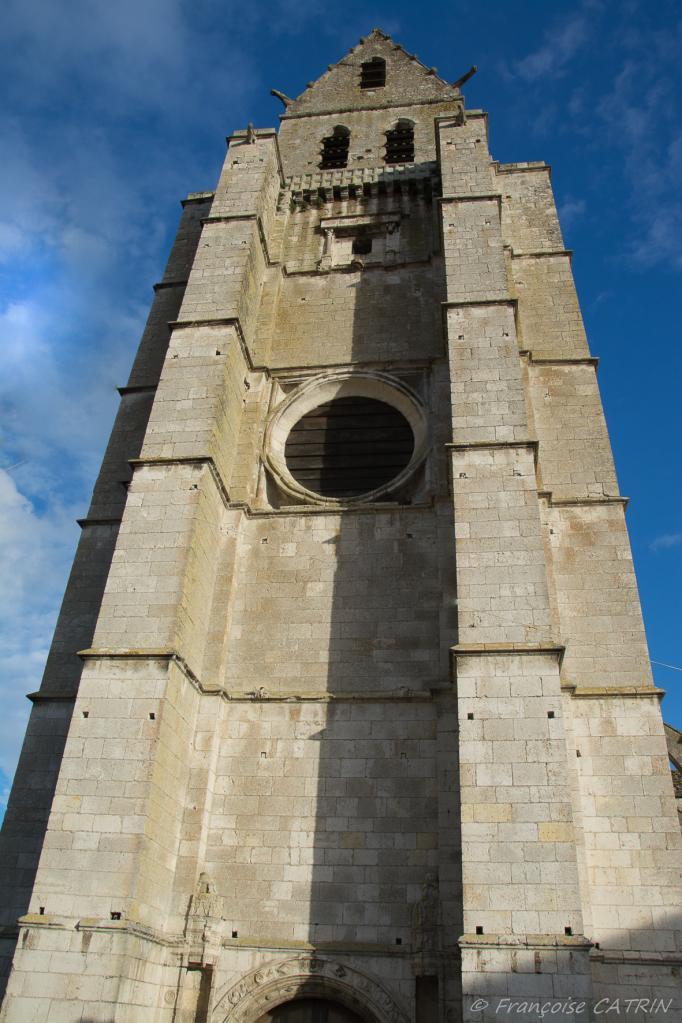 La Tour penchée St Martin d'Etampes